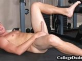 College Dudes – Micah Busts A Nut