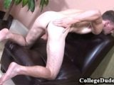 College Dudes – Keith Felda Busts A Nut