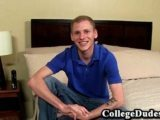 College Dudes – Joshua Bartlett Busts A Nut