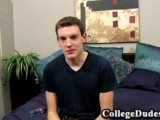 College Dudes – Owen Clarke Busts A Nut